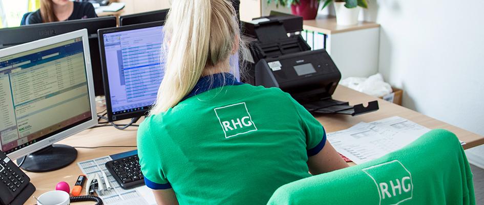 Jobs RHG Bürokaufmann/-frau
