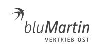 Logo bluMartin grau