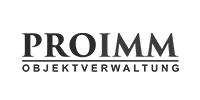 Logo ProImm grau